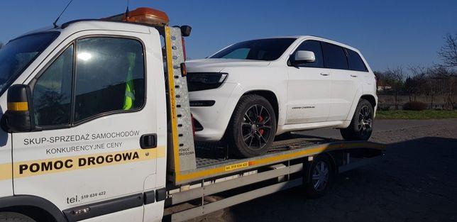 Pomoc drogowa autoholowanie transport samochodów laweta