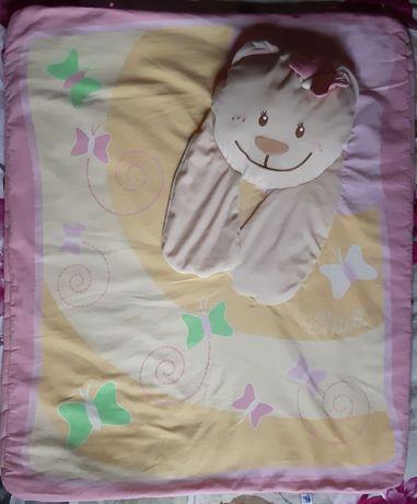 Развивающий коврик Chicco подушка