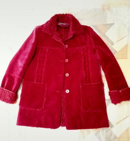 Casaco Vermelho Inverno