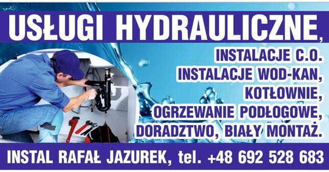 Hydraulik. Modernizacja jak i nowe projekty