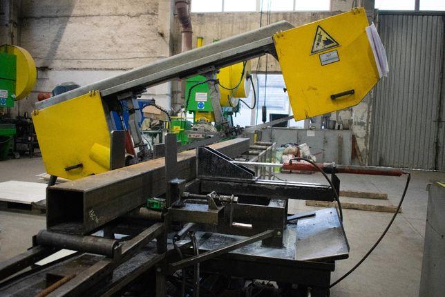 Услуги по резке металла ленточной пилой, різка металу, обробка металу