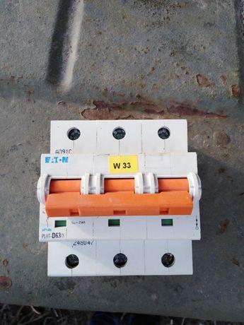 Автоматичний вимикач PLHT D63/3 EATON