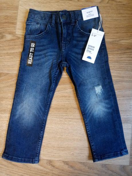 Джинсы H&M superstretch slim fit для мальчика 2-3 г.