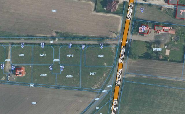 Działka budowlana Kostrzyn - bezpośrednio od właściciela 1367m2