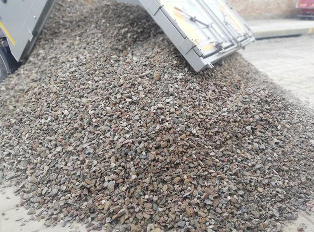 Kamień polny kruszony 0-31,5 mm, Kruszywo, Tłuczeń, gruz kruszony