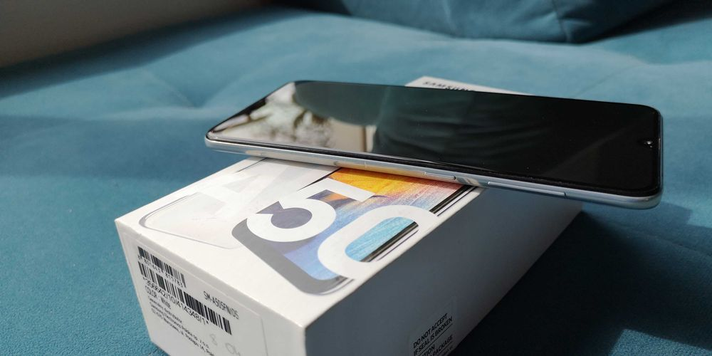 Samsung a50 bialy perlowy Pabianice - image 1