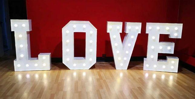 napis LOVE WINTAGE gigant