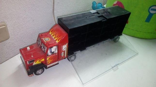 Grande camião organização e arrumação brinquedos,transport de veículos