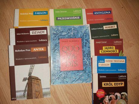 Lektury z opracowaniem matura liceum technikum język polski