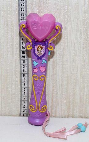 микрофон волшебная палочка игрушка играет записывает принцесса София