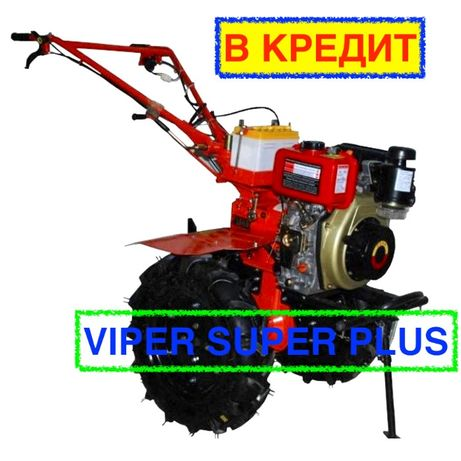 Мотоблок дизельный ZUBR (Зубр) HT-135E (9 л.с.) Электростартер Воздух