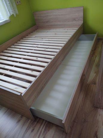 Łóżko 200x120 Dąb sonoma.