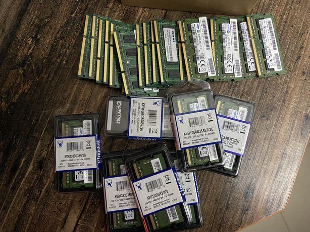 Оперативна пам'ять для ноутбуків 2gb