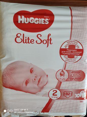 Продам Huggies elite soft 2