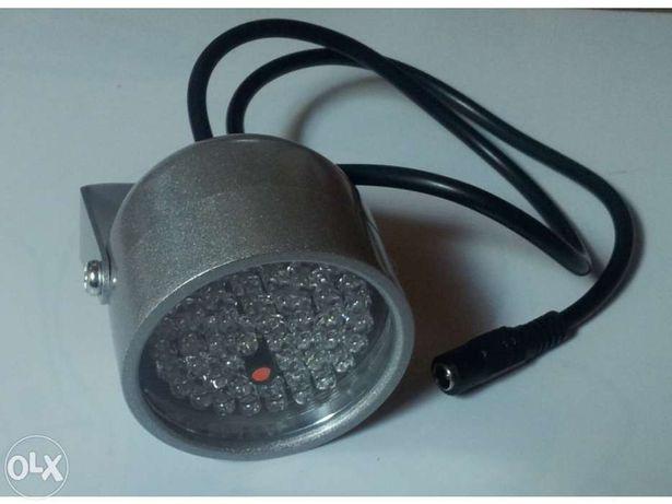 Lâmpada Infravermelhos para iluminação noturna de Câmaras Vídeo Vigilâ