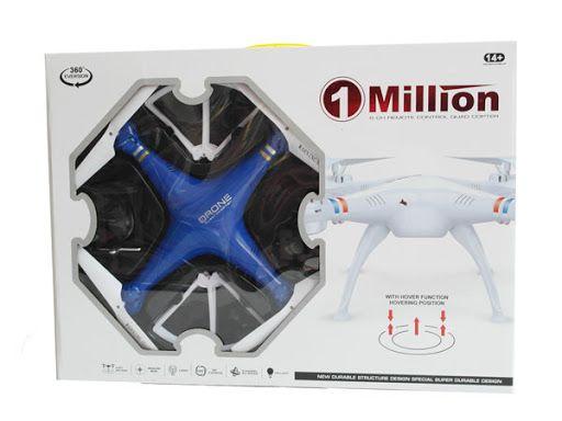 Квадрокоптер 1milion Радиоуправляемый дрон, WIFI камера, разные цвета