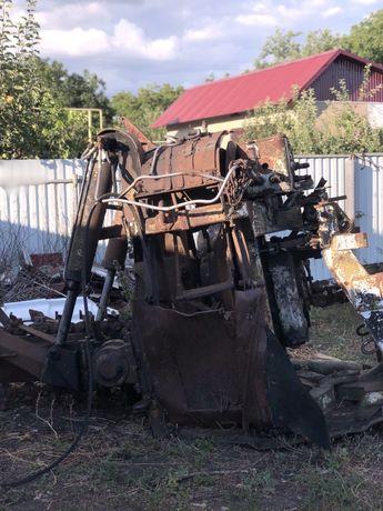 Установка землерийної машини на базі Т-150