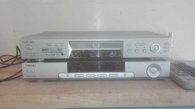 Amplificador Sony TA VE-170 + Leitor DVP Sony NS-400D