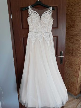 Sukienka ślubna 34 36