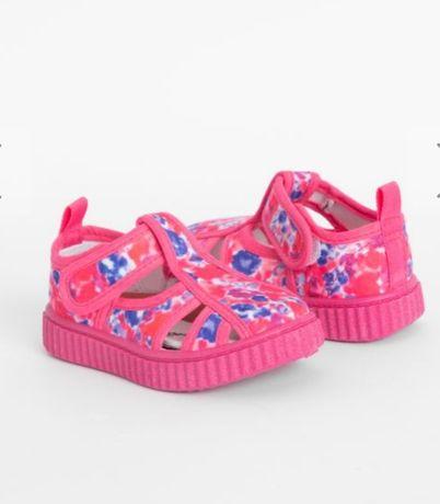 Текстильные кросовки на лето