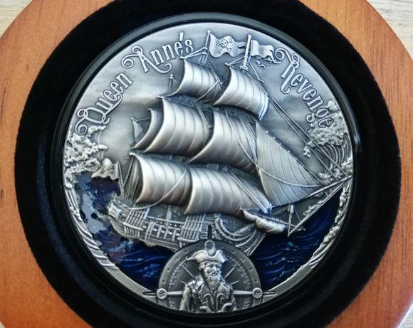 Moneta Zemsta Królowej Anny - 2000 Franków - Kamerun 2019