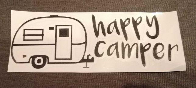 Naklejka Happy camper