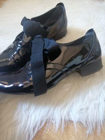 skórzane buty damskie r. 38
