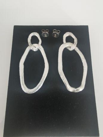 Nowe kolczyki COS srebro 925