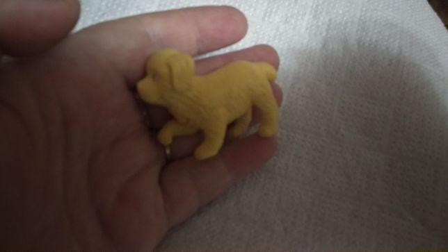 игрушка собака пес золотистый ретривер лабрадор щенок фигурка