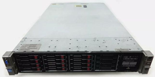Сервер 1С HP DL380p Gen8 20 Ядер/40 поток 64GB RAM 16×SAS/SATA