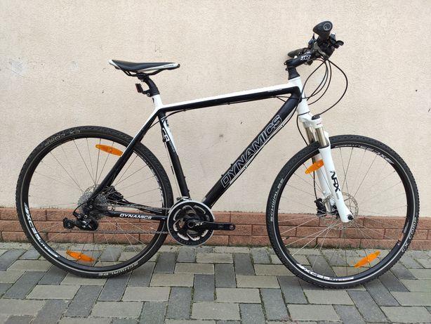 Топовый велосипед Dinamics Cross XT кроссовый гибрид