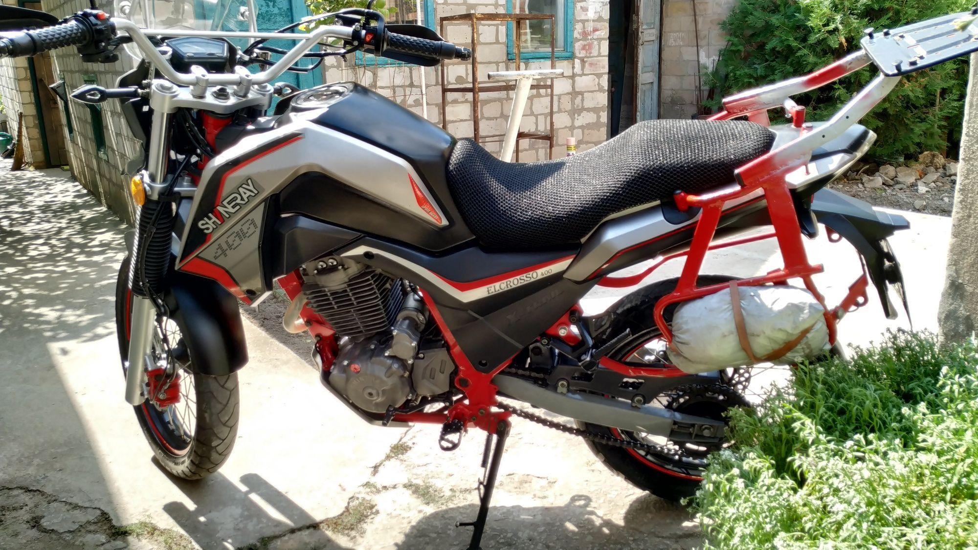 Продам мотоцикл тур эндуро,SHINERAY ELCROSSO 400