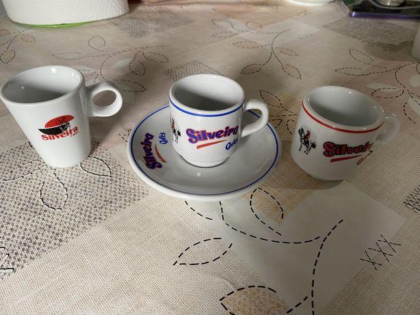 3 Chávenas + 1 Pires Silveira Cafés