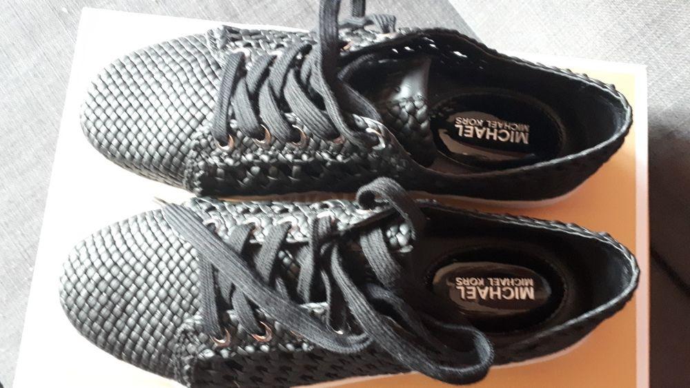 Michael Kors nowe sneakersy czarne rozmiar EU 38 US 7.5 skóra Oświęcim - image 1