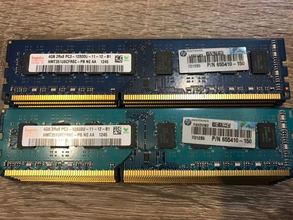 Память DDR-3 Hynix, Samsung, Kingston по 4 GB (1600 MHz) -для ПК #22 Харьков - изображение 1