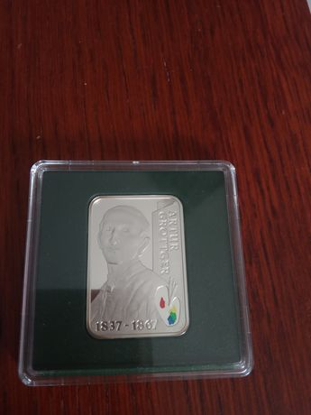 Srebrna moneta 20 zł Grottger 2010r mennicza
