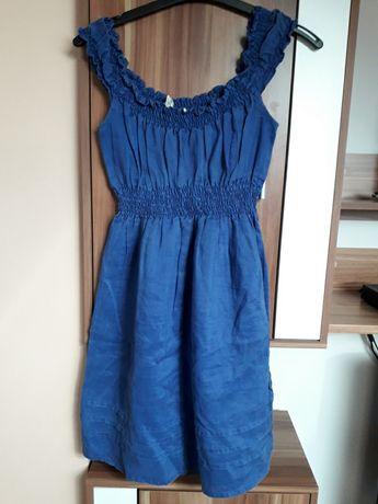 Mango 36 sukienka ala jeansowa