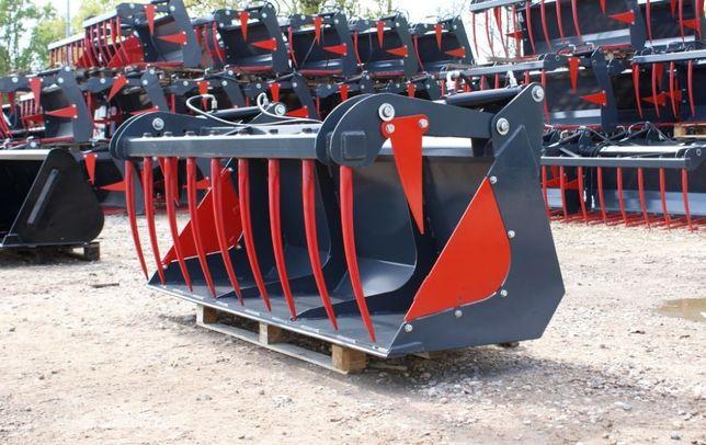 TRANSPORT Łyżko-krokodyl na ciągnik rolniczy traktor ładowacz czołowy