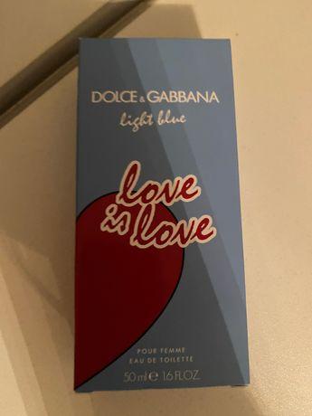 Dolce & Gabbana Light Blue Love Is Love 50 мл оригинал