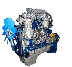Турбированный двигатель МТЗ ММЗ 245-1003015 с коробкой радиатором