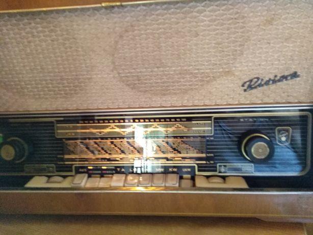 Stare radio lampowe Riwiera