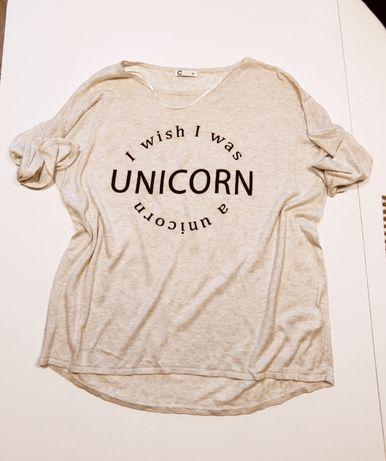 Sweterek bluzka Cubus Unicorn rozmiar M