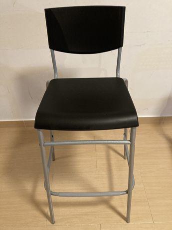 Cadeira alta IKEA STIG Banco alto c/encosto