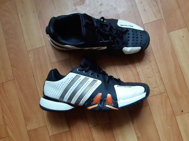 Кроссовки теннисные Adidas adipower Barricade. Размер 44 (27,5 см). БУ