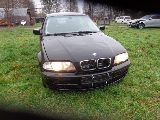 BMW E46 kolor schwarz II zderzak przedni wszystkie części