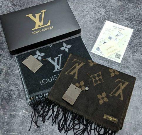 Шарф Louis Vuitton, lv, LV с документами и коробкой