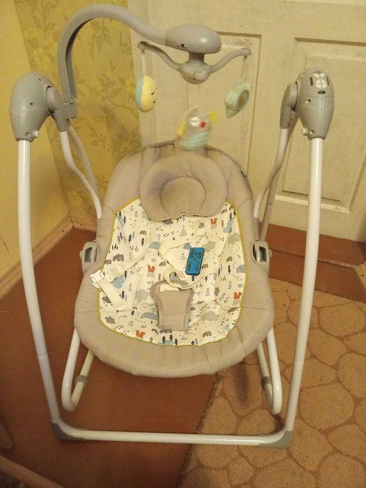 Люлька, кресло-качалка, стул для кормления. Изюм - изображение 1