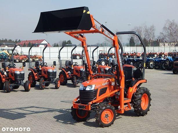 Kubota B1181  Mały Traktor ogrodniczy mini ciągnik Kubota z ładowacz czołowy TUR