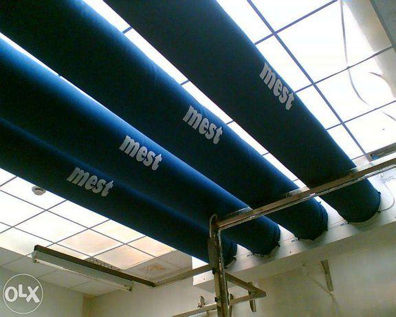Воздуховоды тканевые текстильные
