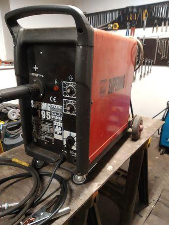 Migomat spawarka Supermig 195 polautomat 230V 180A-15%